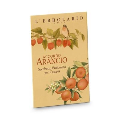 Accordo Arancio - Perfumed sachets for Drawers