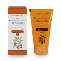 Sun and Open Air - Face Sun Cream with Aloe Vera & Macadamia - SPF 25 - 75 ml