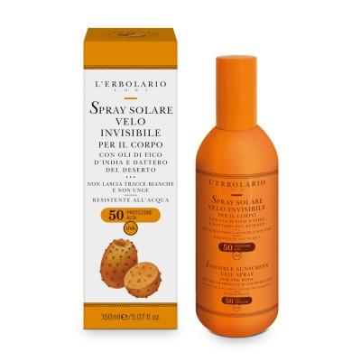Invisible Sunscreen Veil Spray for the Body - SPF50