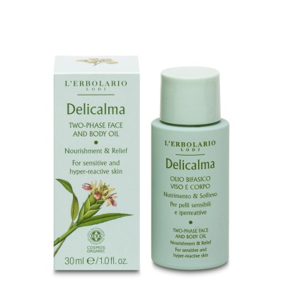 Two-phase Face and Body Oil Delicalma
