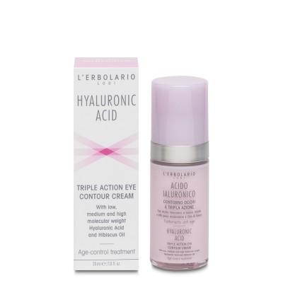 Triple Action Eye Contour Cream Hyaluronic Acid