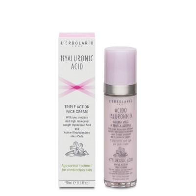 Hyaluronic Acid Face Cream for Combination Skin