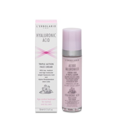 Hyaluronic Acid Triple Action Day Cream for Normal Dry Skin