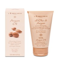 Cleansing Cream for Facial Massage Argan Oil