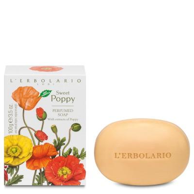 Papavero Soave - Sweet Poppy - Perfumed Soap - 100 g